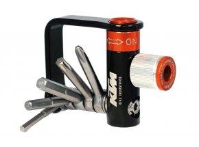 Multiklíč KTM Multitool 5 & CO2 Inflator Black