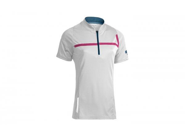 Dámský dres CUBE MOTION WLS Jersey S/S White