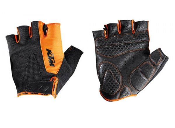 Dětské cyklistické rukavice KTM Factory Youth Black/orange