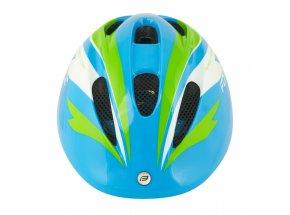Dětská helma na kolo Force Fun Stripes Blue/green/white