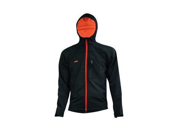 Pánská softshellová bunda KTM Factory Team Black/orange