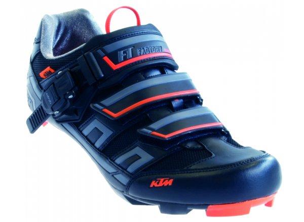 Tretry KTM Factory Team Road Black/orange