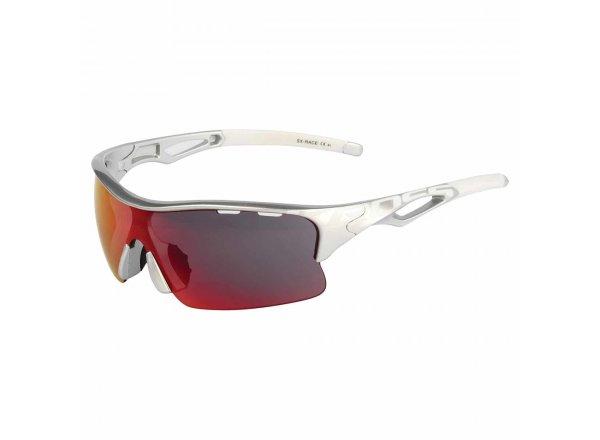 Cyklistické brýle KROSS SX-RACE Silver/white
