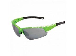 Cyklistické brýle KROSS DX-OPTIC Green/white