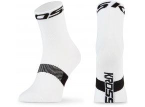 Ponožky KROSS PAVE MID White