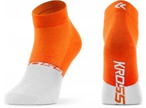 Ponožky KROSS ACTIVE LADY LOW Orange