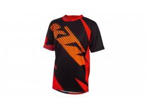 Cyklistický dres KTM Factory ENDURO 2020 Black/orange/red