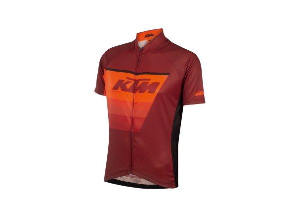 Cyklistický dres KTM Factory Line Red/orange/black