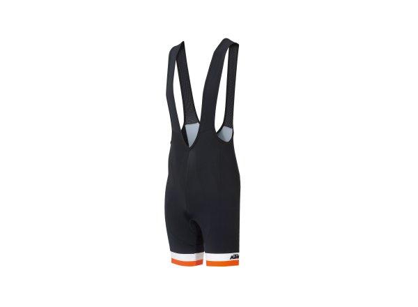 Cyklistické kraťasy KTM Factory Line Black/orange/white