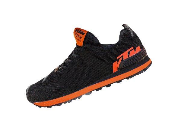 Volnočasová obuv KTM Factory Team Woven Sneaker 2021 Black/orange