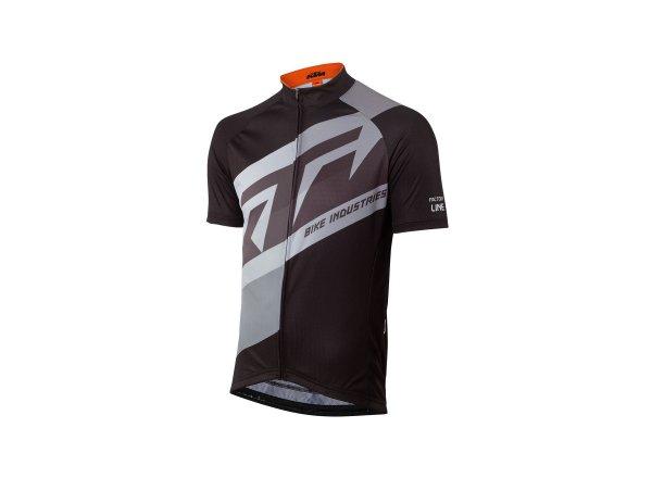 Cyklistický dres KTM Factory Line 2021 black/grey