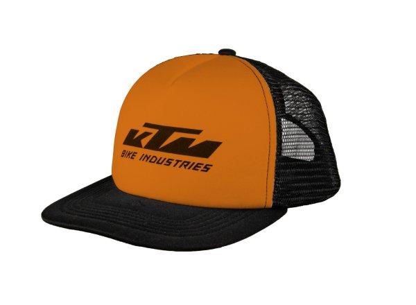 Kšiltovka KTM Factory Team Mesh cap 2021 Black/orange