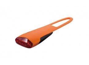 Zadní blikačka KTM USB LED silikon Orange